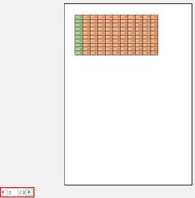 エクセルで改ページの利用-2段目の表
